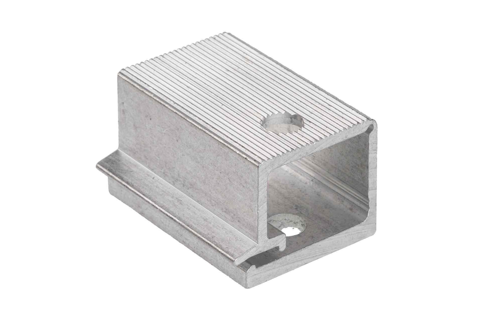 Draadblok 40mm aluminium
