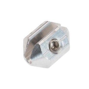 Kabelklem 3mm aluminium met sleuf