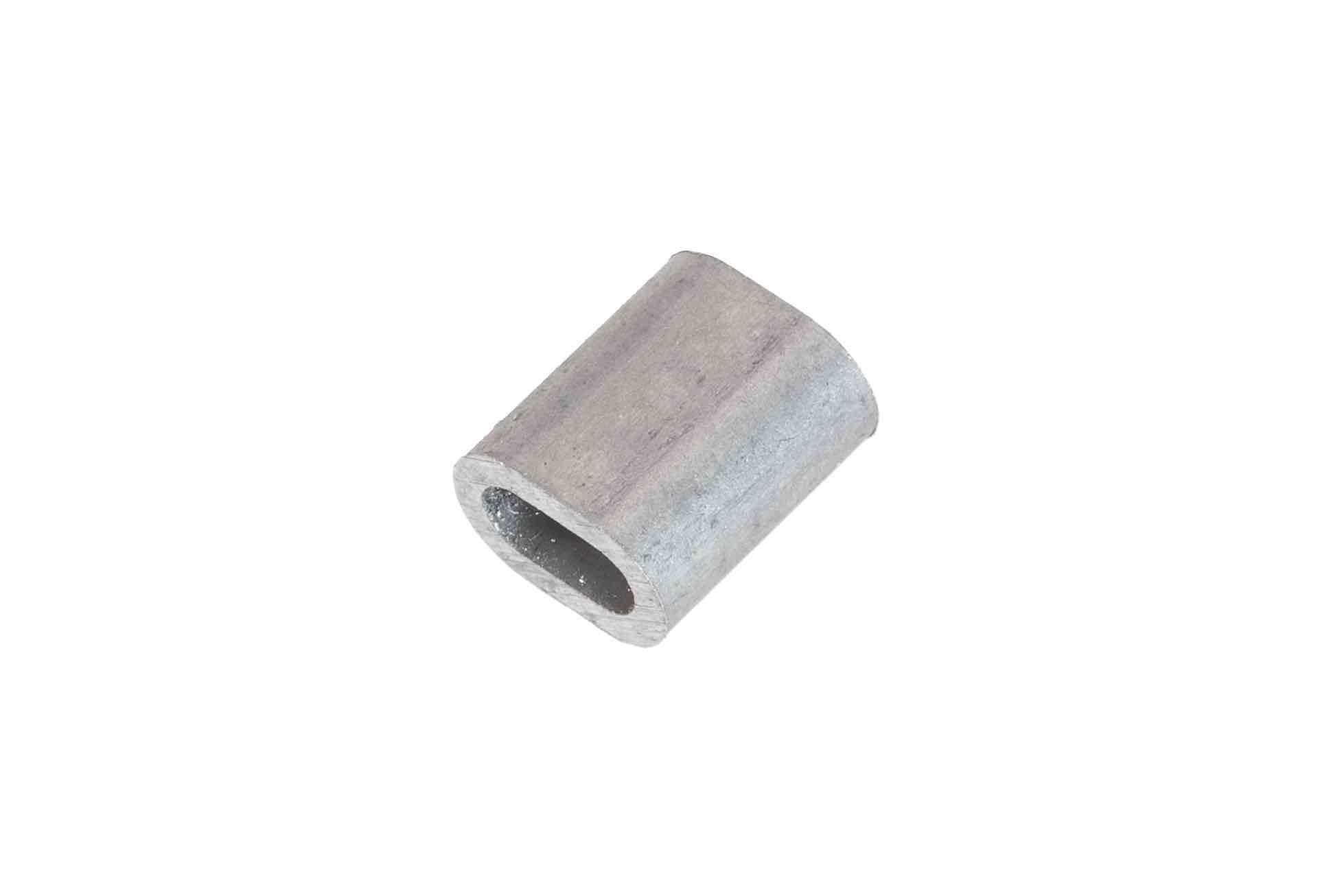Knijphuls 2,5mm aluminium